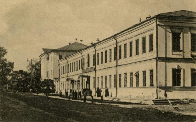 Technical school - Vyazniki of Vladimir Gubernia, 1900