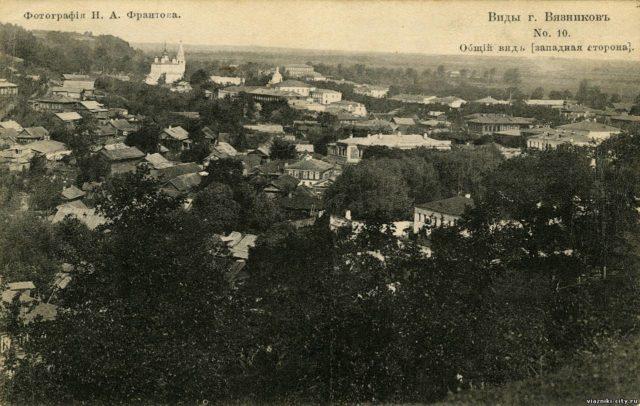 Vyazniki of Vladimir Gubernia - West part