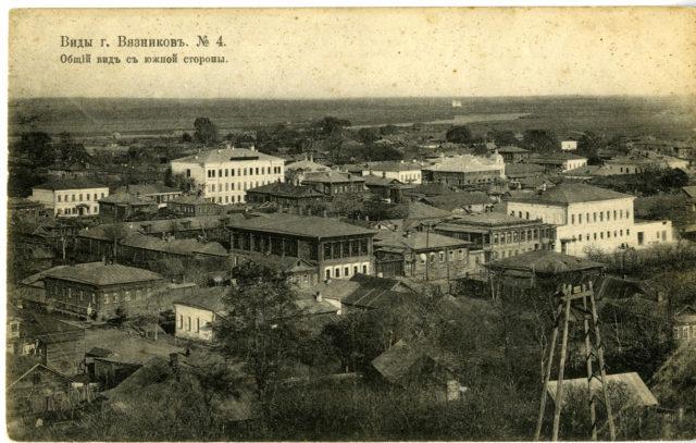 Vyazniki of Vladimir Gubernia -  view from south