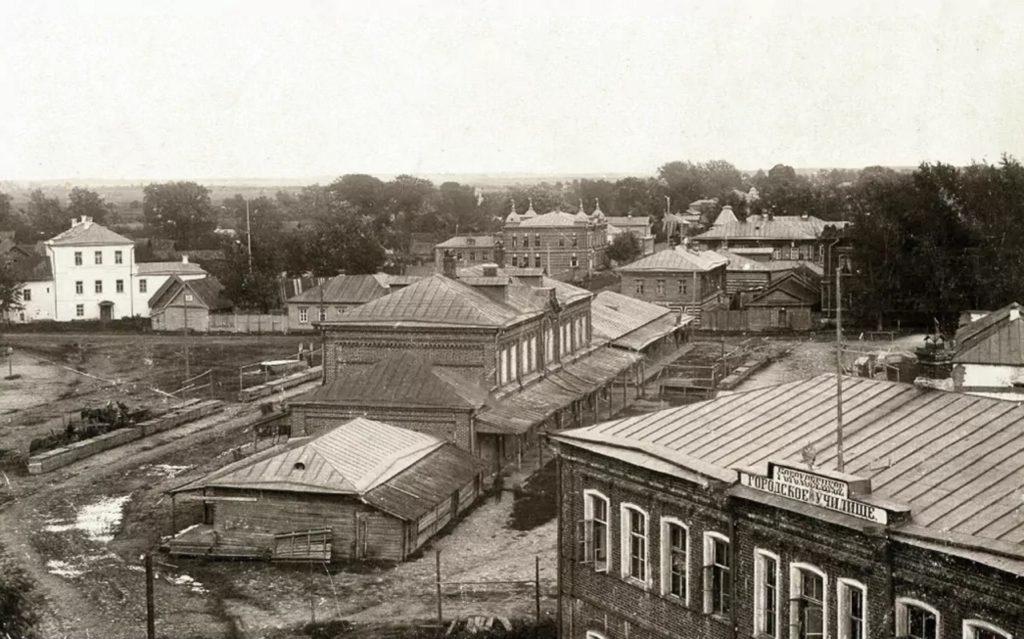 Gorokhovets of Vladimir Oblast, Marketplace