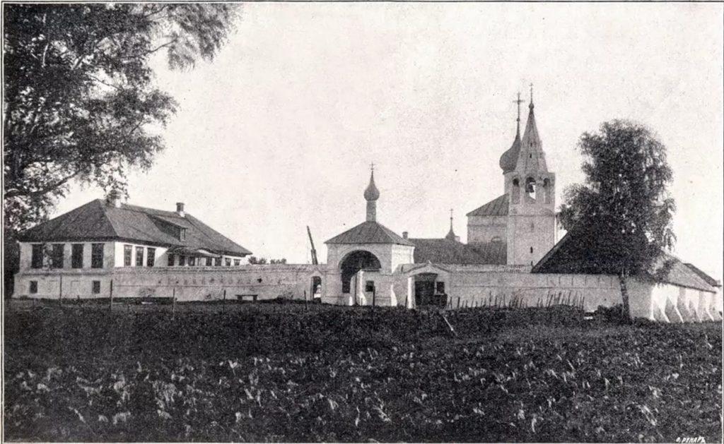 Znamensky nunnery - Gorokhovets of Vladimir Oblast, Russia, the town on the highway from Moscow to Nizhny Novgorod and Klyazma river.