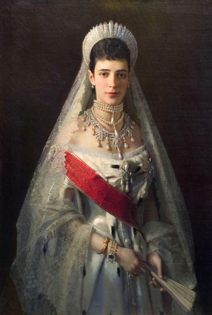 Empress Maria Feodorovna (Dagmar) the wife of Emperor Alexander Alexandrovich.