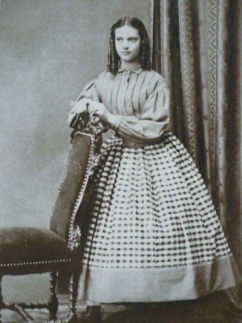 The Danish Princess Maria Dagmar.