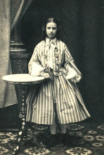 The Danish Princess Maria Dagmar (full name Maria Sofia Frederika Dagmar).