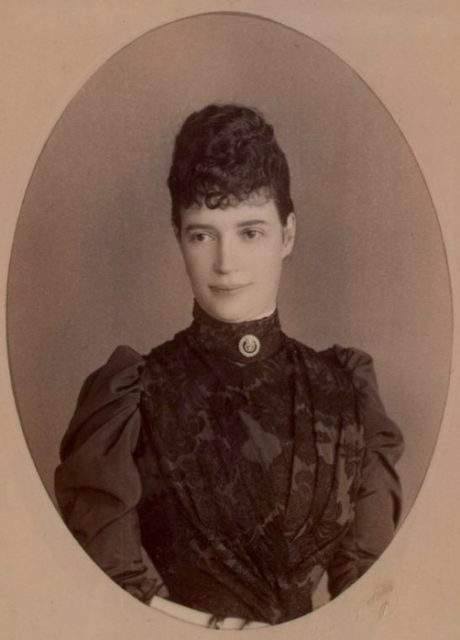 Tsesarevna Maria Feodorovna (Dagmar) the wife of Tsesarevich Alexander Alexandrovich.