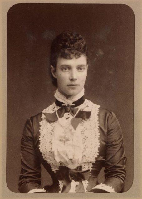 Tsesarevna Maria Feodorovna (Dagmar) the wife of Tsesarevich Alexander Alexandrovich (Alexander III).