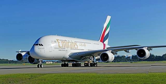 Airbus A380-861.  Christchurch NZ