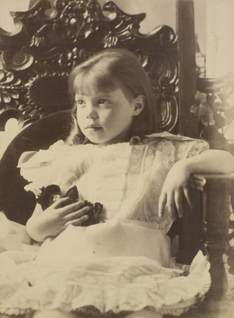 The Grand Duchess Olga Alexandrovna. Younger daughter of Emperor Alexander III and Empress Maria Feodorovna.