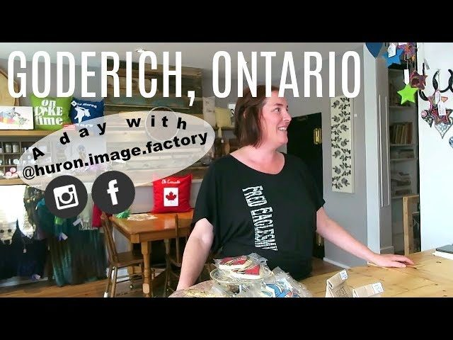 A Day in Goderich Ontario! w/ @huron.image.factory | Travel Vlog | A Curious Expedition