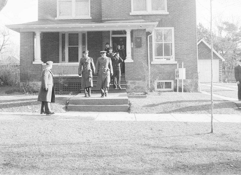 Billington Funeral, November 19, 1943