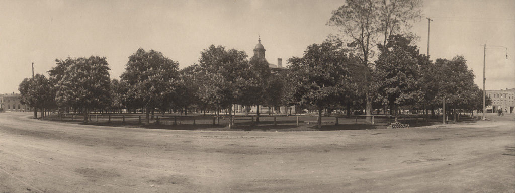 Court House Square, Goderich, Ontario, date unknown