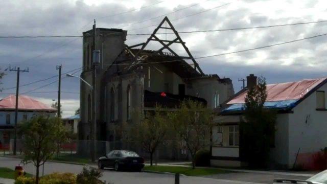 Goderich, Ontario, Canada  F3 Tornado Aftermath