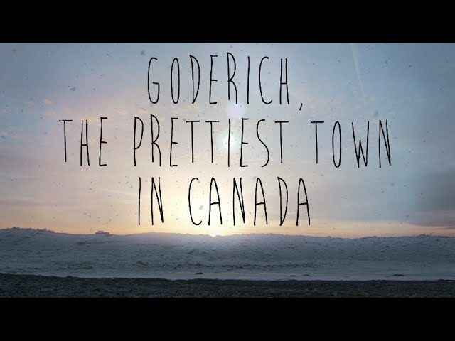 Goderich - The Prettiest Town In Canada