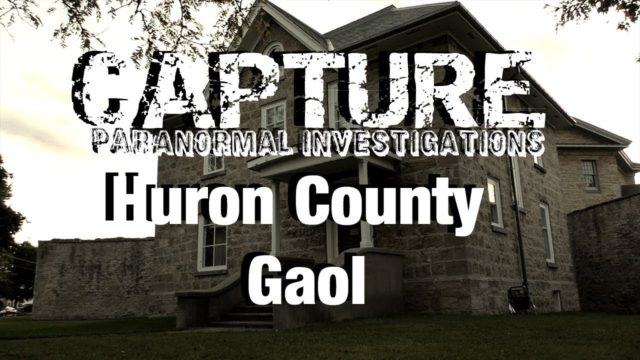 Huron Country Gaol Investigation in Goderich Ontario