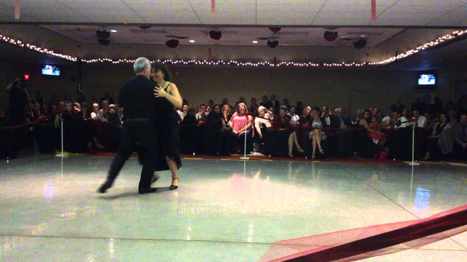 Katrina Bos and Matt Hoy doing the Tango at Dancing with the Stars in Goderich 2013