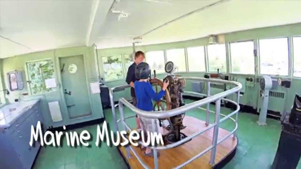 Marine Museum: Goderich's Yellow Submarine