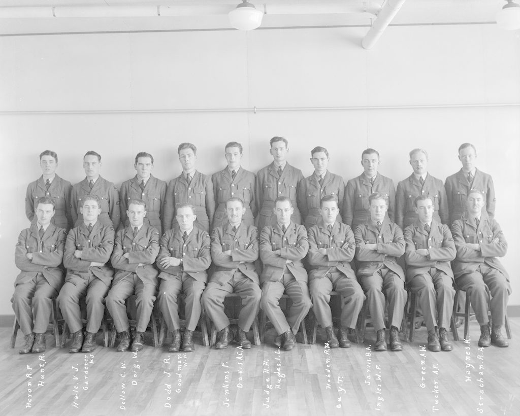 No. 1 or No. 4 Air Observer's Course, January 6, 1941