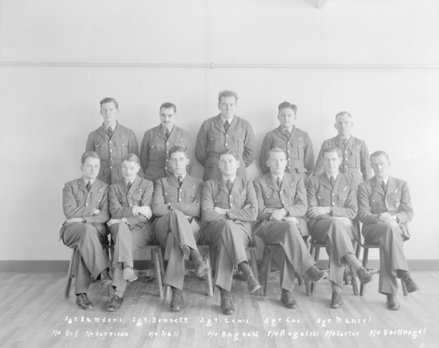 No. 3 or No. 4 Air Observer's Course, January 6, 1941