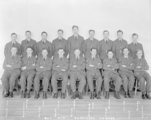 No.1 Air Observer's Course, January 16, 1941