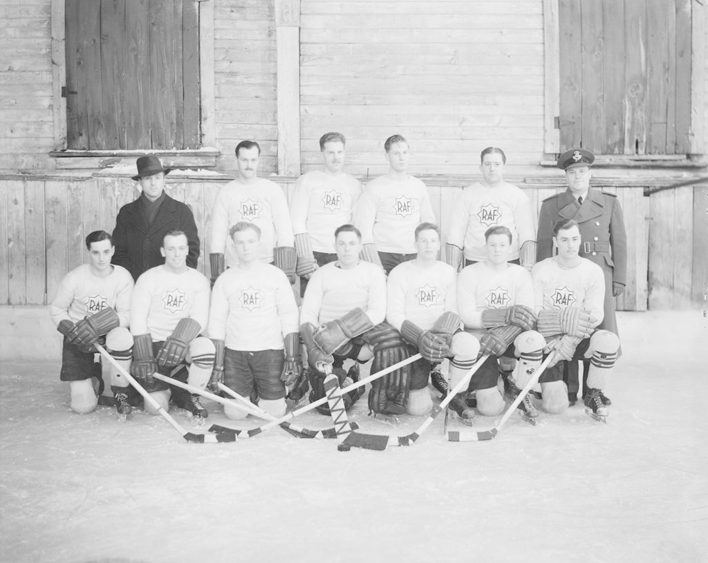 Royal Air Force Hockey Team 1941, 1941