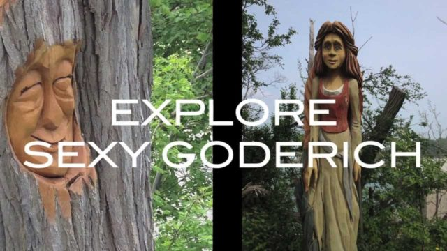Sexy Goderich: Historic Plaques and Trees