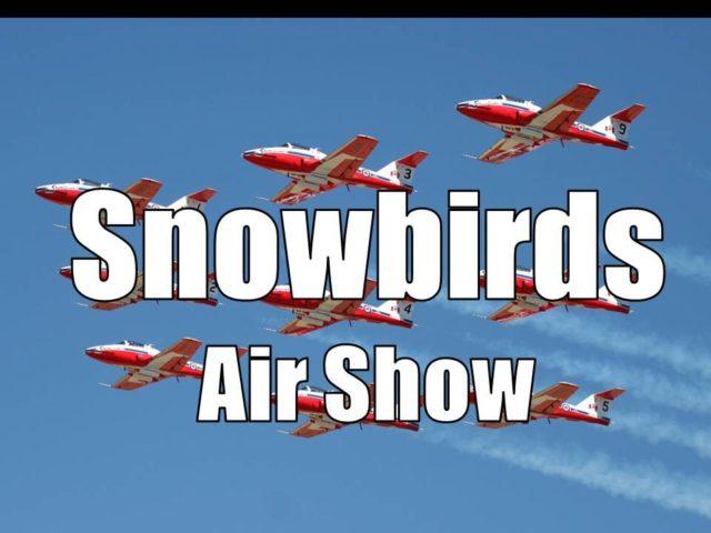 Snowbirds Airshow- Goderich Ontario 2015