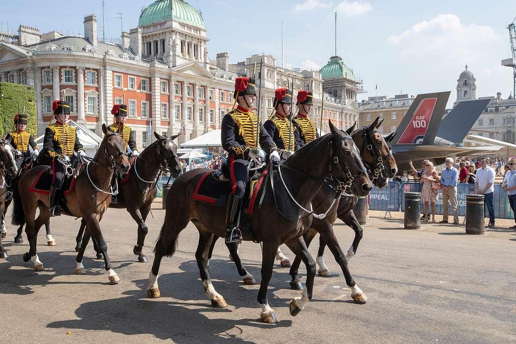RAF 100 at Horse Guard London