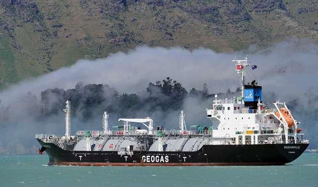 BOUGAINVILLE. LPG tanker.
