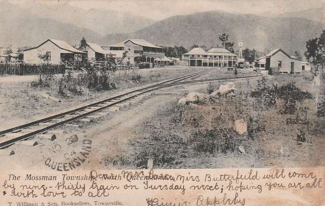 Town of Mossman, North Queensland - circa 1904
