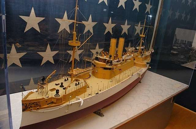 On November 18, 1889, the battleship USS Maine (ACR