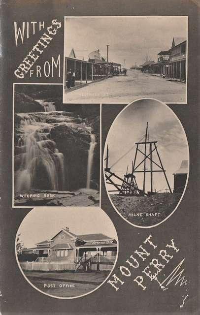 Views of Mt Perry, Qld - circa 1909
