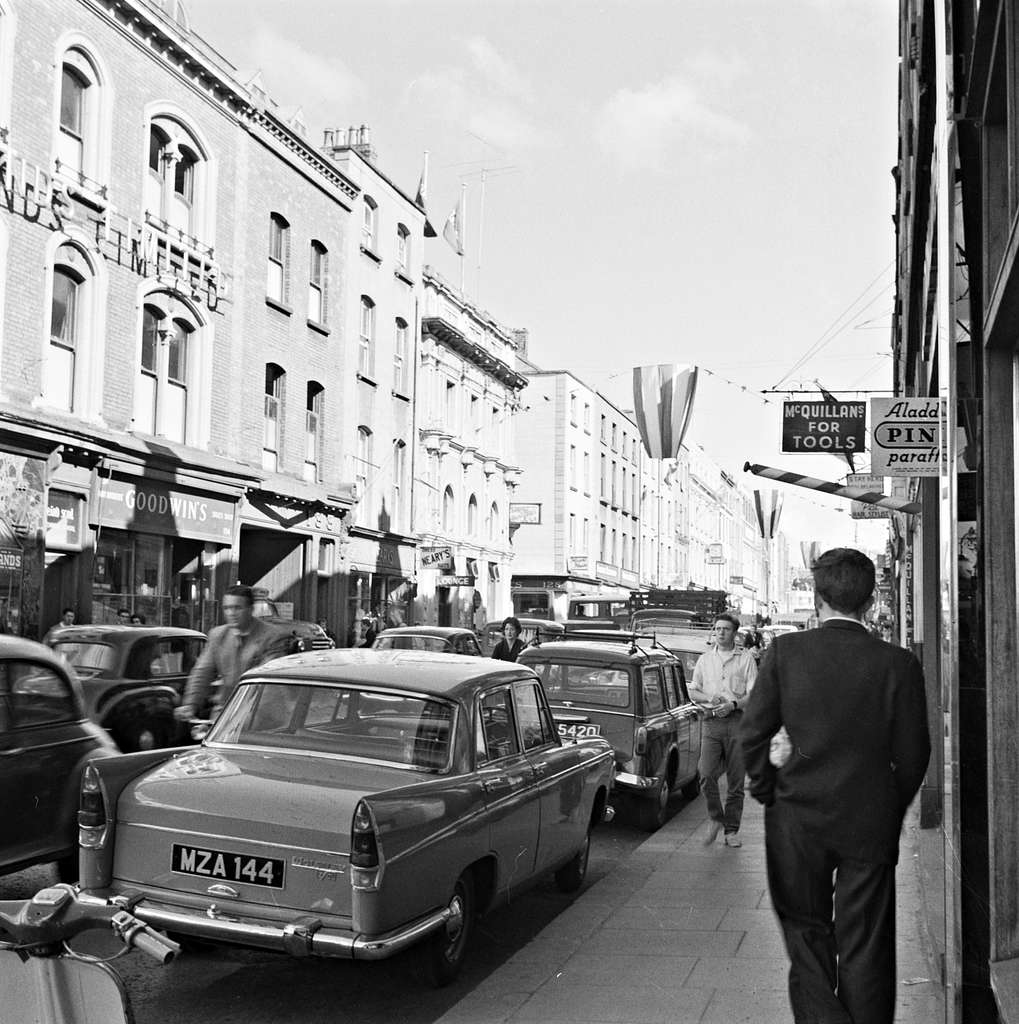 Capel Street, Dublin at 9.30 am