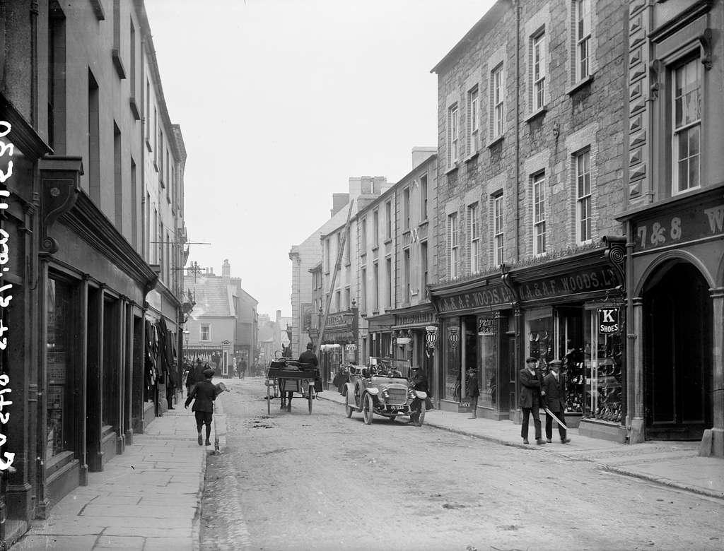 Castle Street in Sligo Town