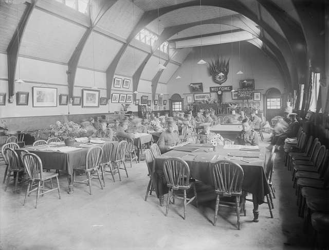 Reading Room, Elise Sandes Soldiers Home, Curragh Camp