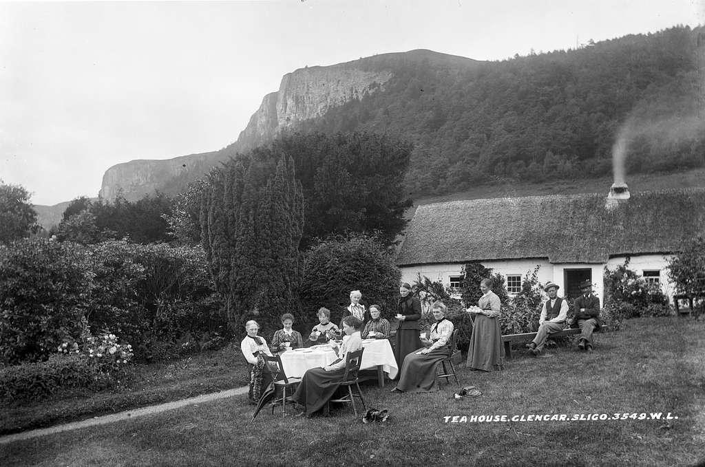 Tea House, Glencar, Co. Leitrim, circa 1890