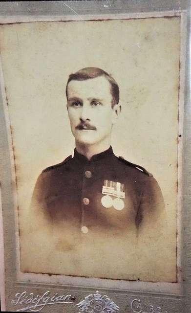 William Lewis (1880-1962) - British Boer War and WW1 soldier