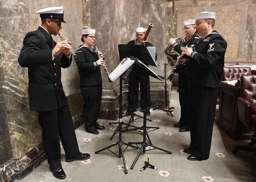 OLYMPIA, Wash. (April 3, 2019) - Navy Band Northwest