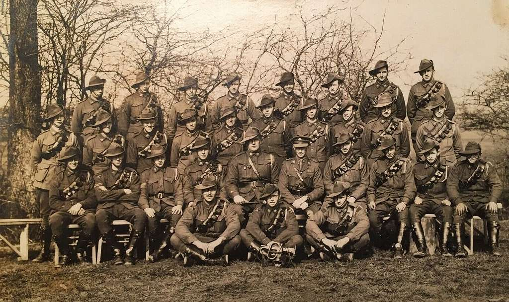 Members of an Australian Field Artillery unit (could be the 12th)  - WW1