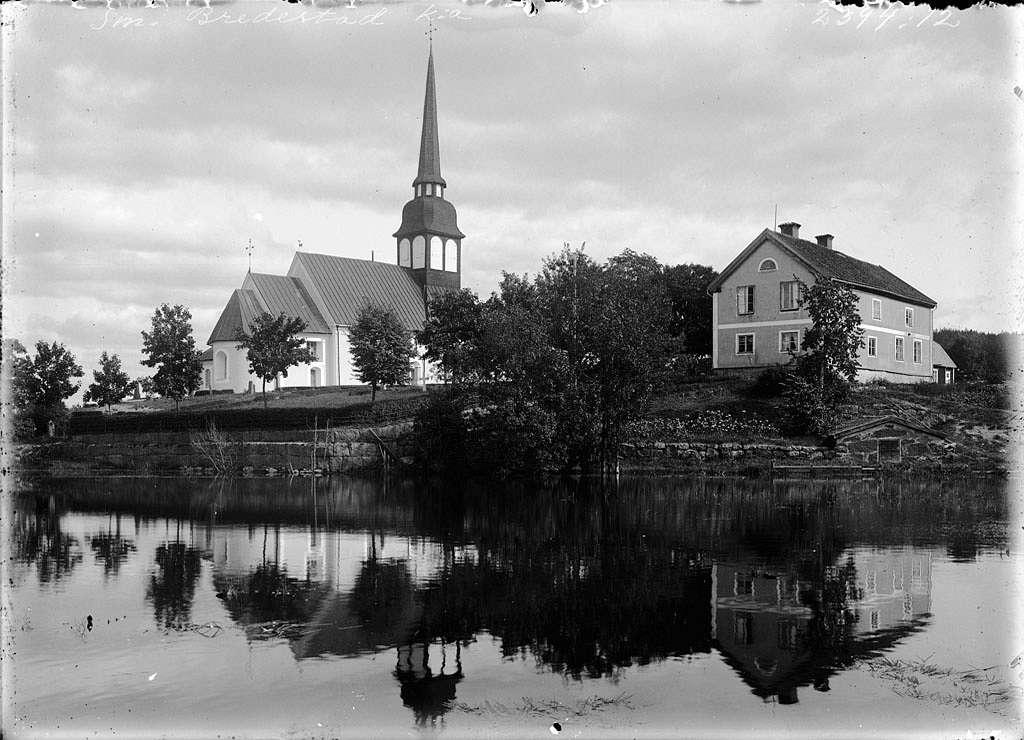 Bredestad Church, Småland, Sweden
