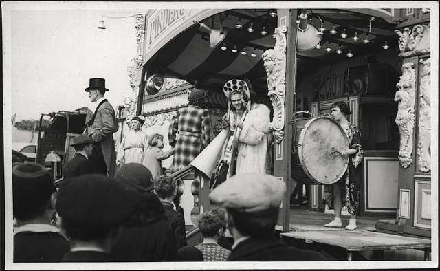 Drumming at the Circus - Hoppings