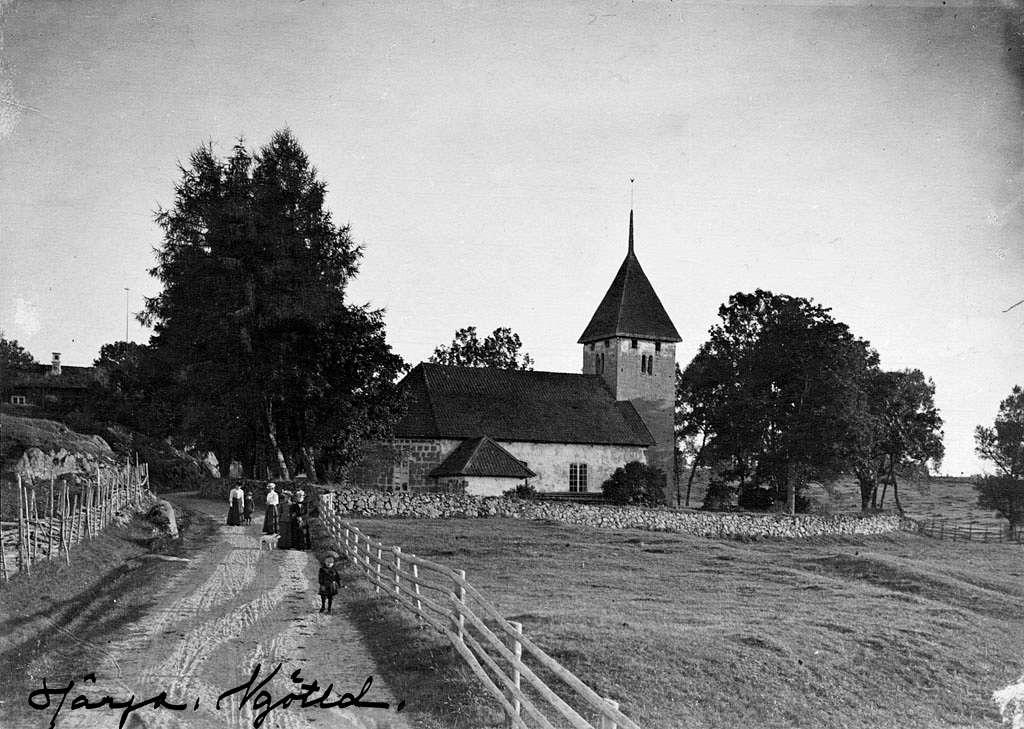 Härja Church, Västergötland, Sweden