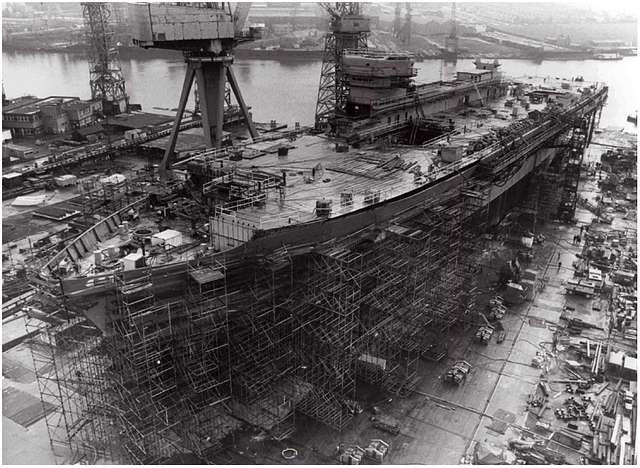 HMS Ark Royal - 10th March 1981
