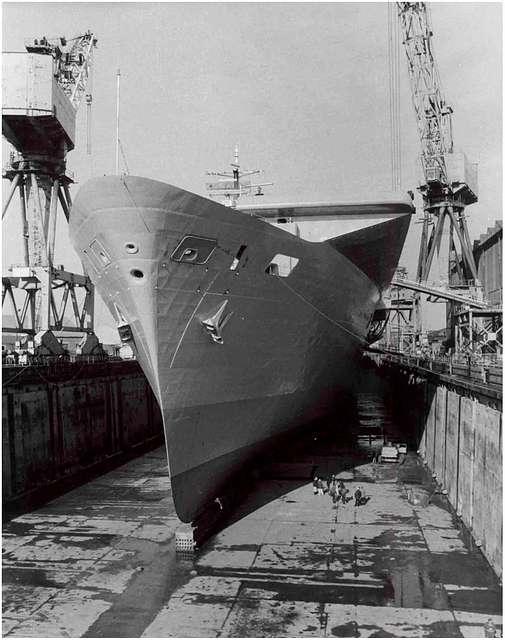 HMS Ark Royal - 16th March 1985