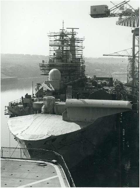 HMS Ark Royal - 27th April 1984
