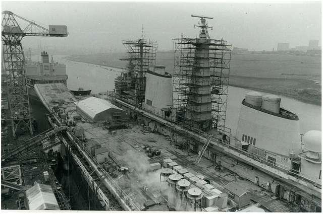 HMS Ark Royal - 30th January 1984