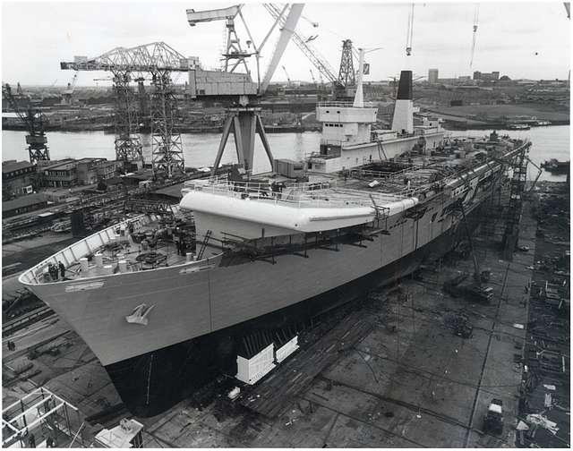 HMS Ark Royal - 6th May 1981