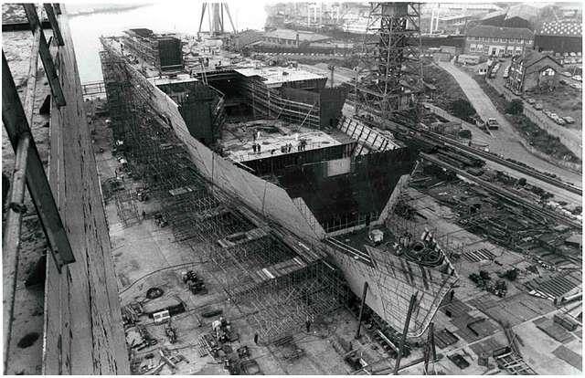 HMS Ark Royal - 7th July 1980