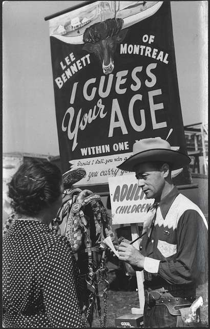 I Guess Your Age - Hoppings
