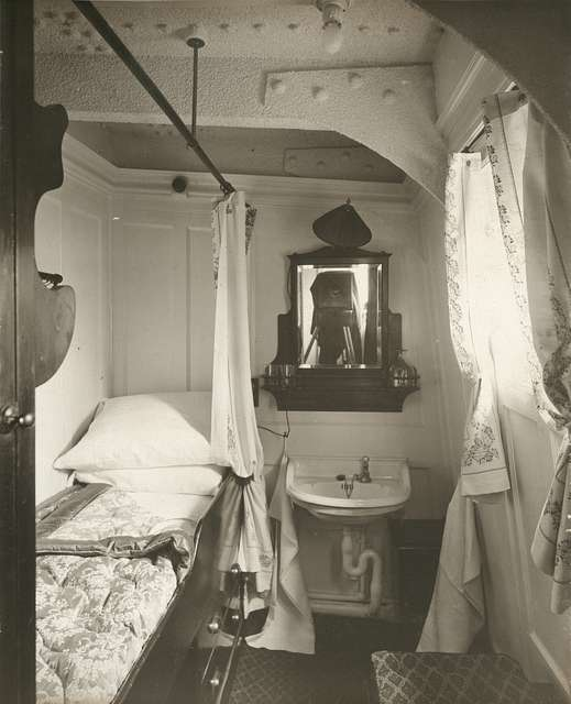 S.S. Franconia. First Class single berth state-room
