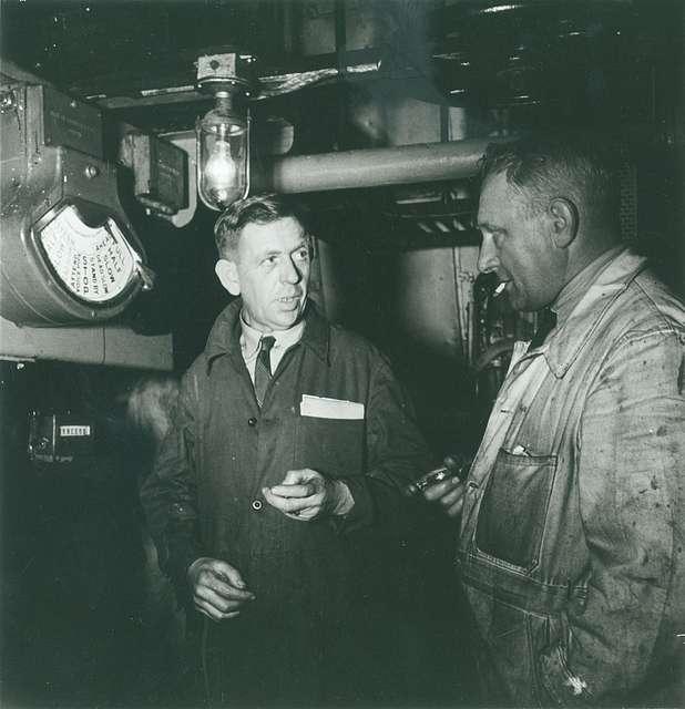 An engine room debate on 'Galeomma'